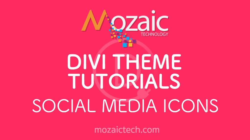 How to Enable Social Media Icons in the Divi Theme Options