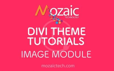 Divi 3.0 Tutorial – Add an image to a web page using the Divi Visual Builder