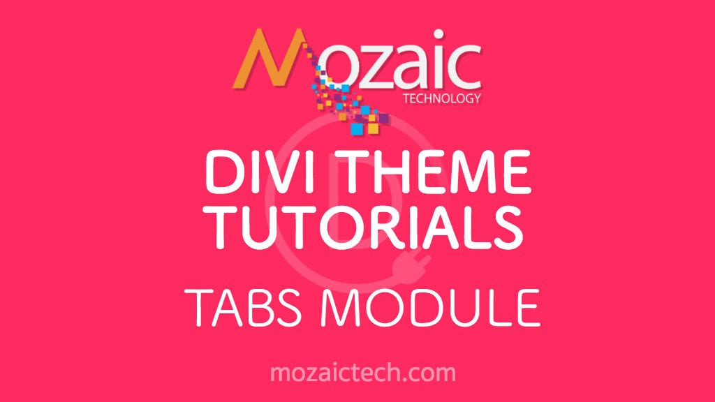 How to add tabs to your website using the Divi Visual Builder