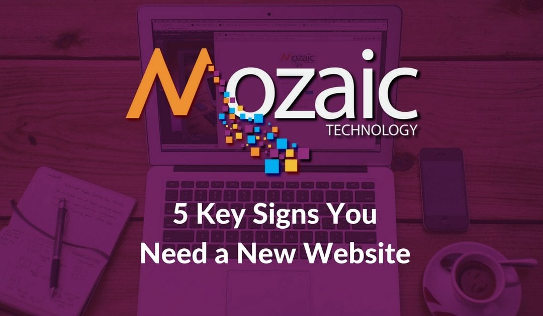 5 Key Signs You Need a New Website
