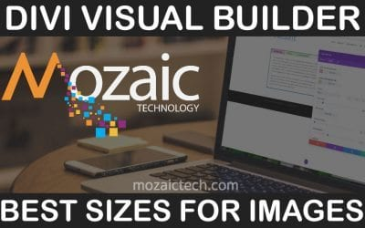 How to pick the best image sizes for the Divi Visual Builder
