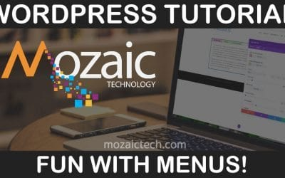 Fun with Menus, WordPress, & Divi