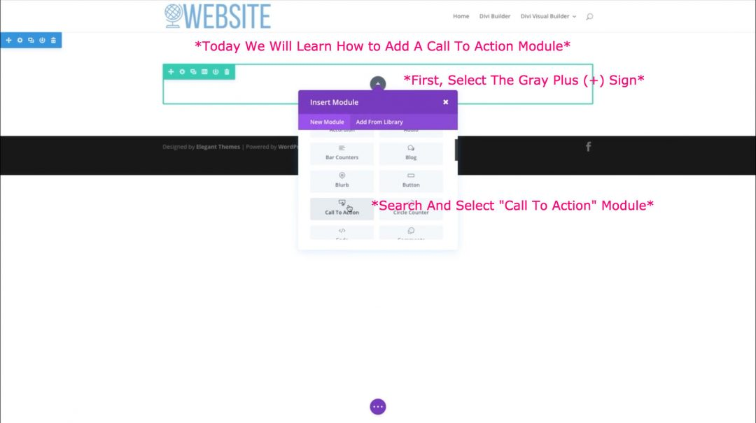 HowToAddCallToAction